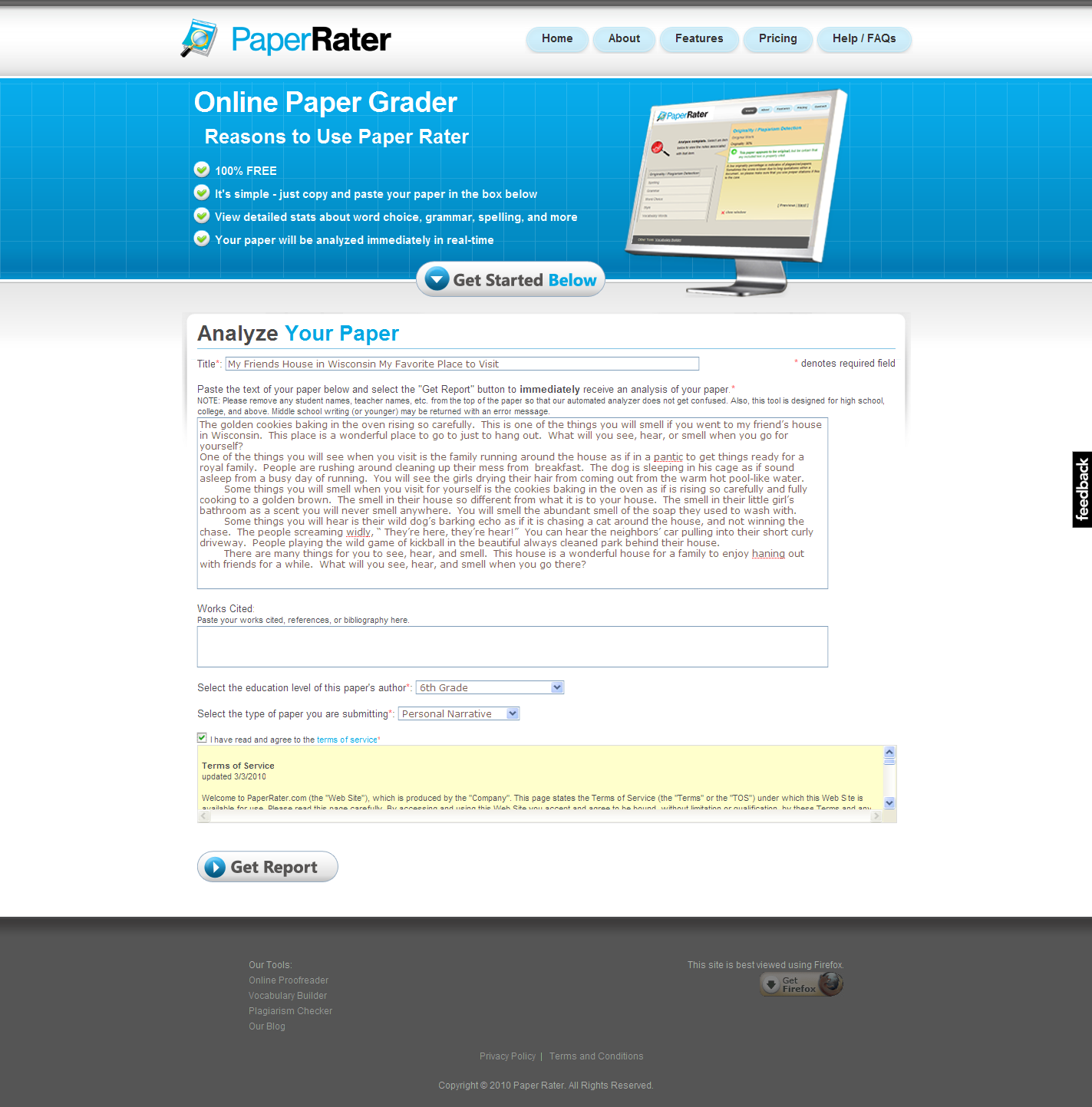001 Online Plagiarism Checker Paper Rater Aviarypaperrater Compicture2 Amazing Full