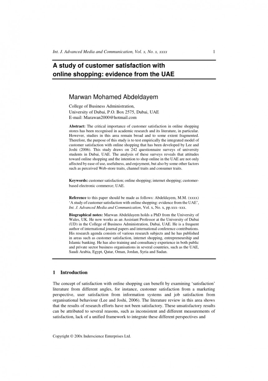 001 Online Shopping Research Paper Philippines Striking