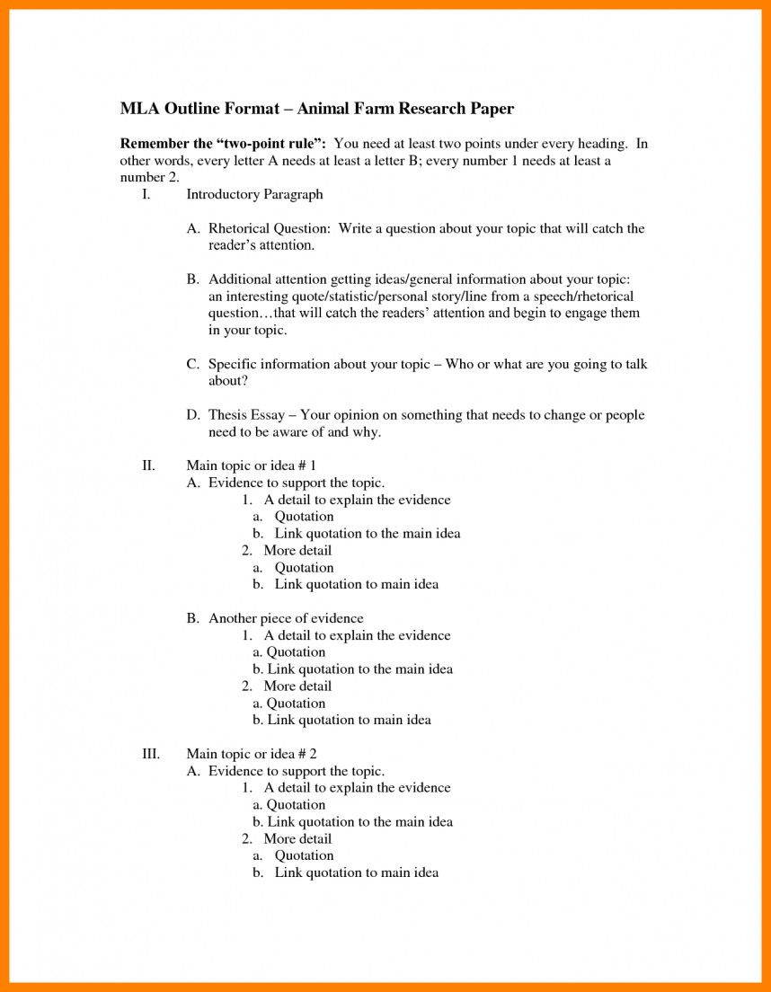 001 Outline Templatech Paper Mla Bunch Ideas Of Example Brilliant Impressive Template Research Blank Format