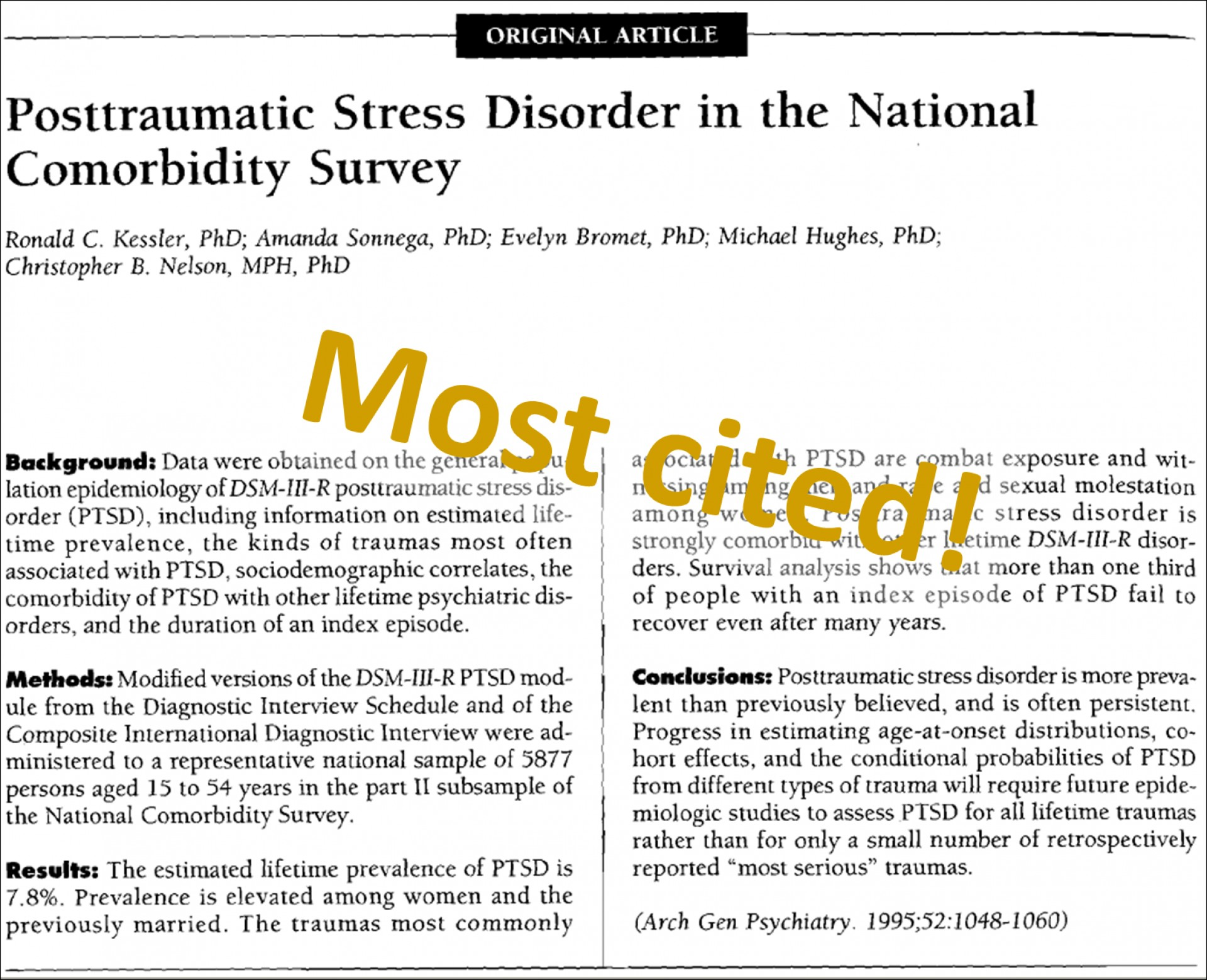 001 Ptsd Research Paper Trauma Recovery Most Cited Amazing Topics Ideas Conclusion 1920