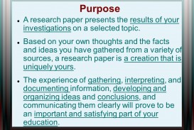 001 Purpose20a20research20paper20presents20the20results20of20your20investigations20on20a20selected20topic Research Paper What Is The Purpose Of Impressive A Conducting Critiquing Process Writing