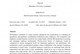 001 Research Paper Abstract For On Job Satisfaction Awesome