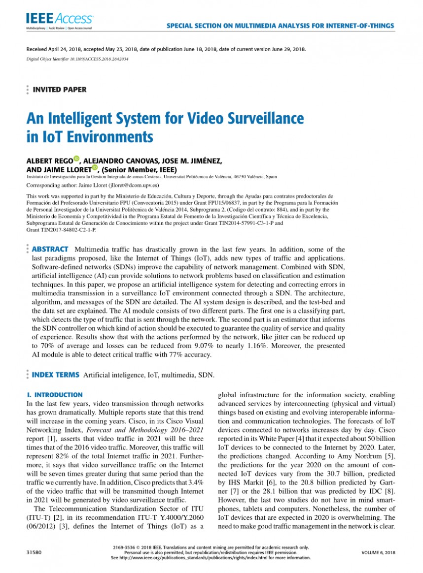 001 Research Paper Artificial Intelligence Ieee Impressive 2018