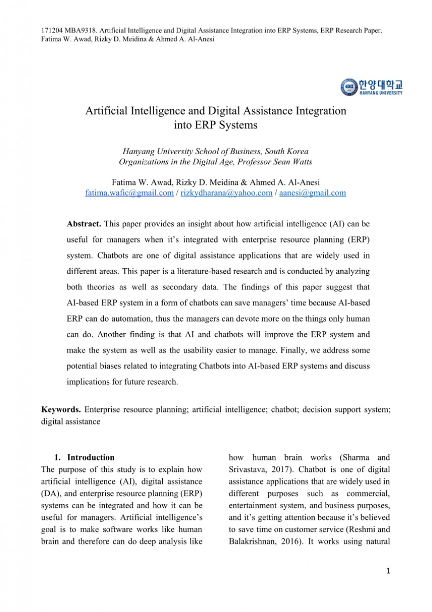 001 Research Paper Artificial Intelligence Papers Unique 2017 On