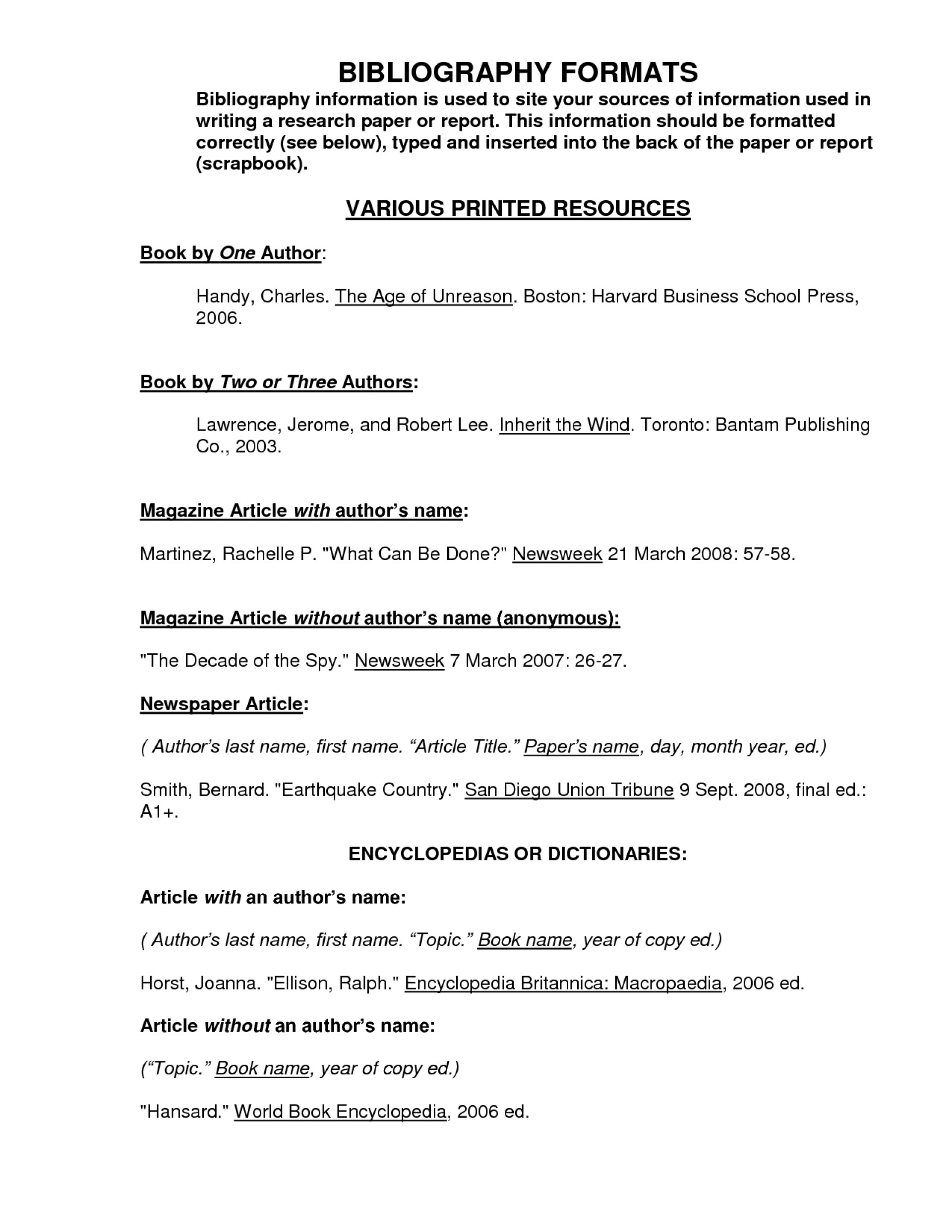 001 Research Paper Bibliography Format 82583 For Awesome References Layout Of A Apa Style Outline Example 1920