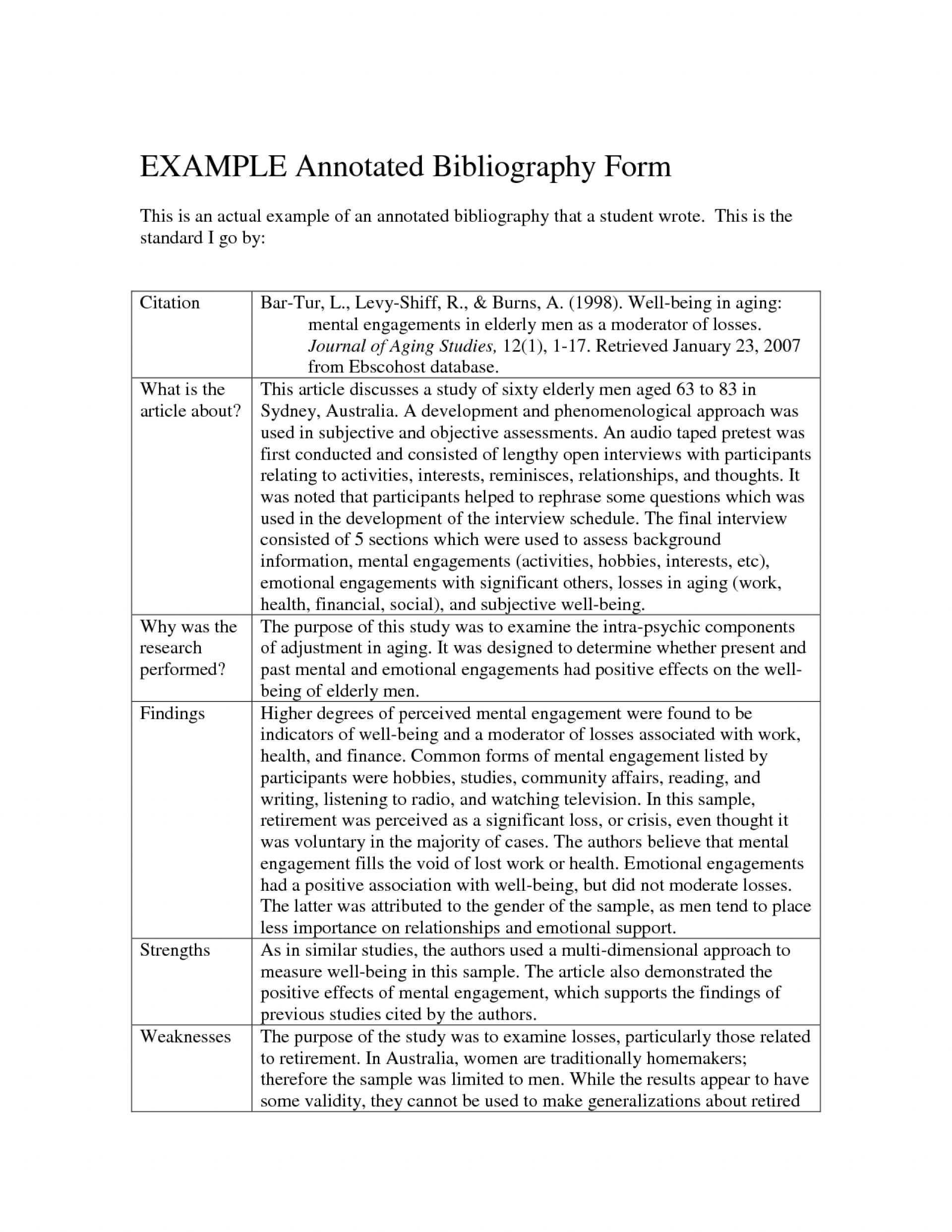 001 Research Paper Bibliography In Best Meaning 1920