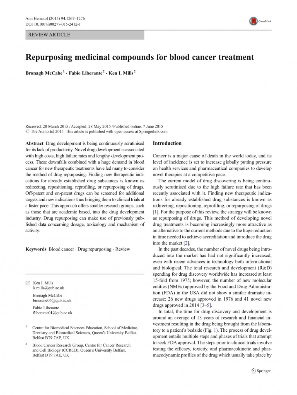 001 Research Paper Blood Cancer Treatment Exceptional Large