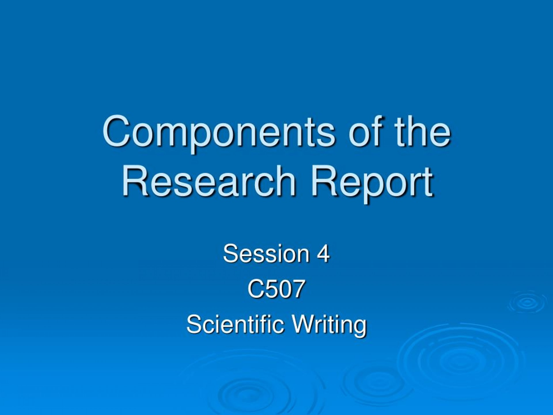 001 Research Paper Components Of The Report L Component Wondrous Ppt Parts Chapter 1 1920