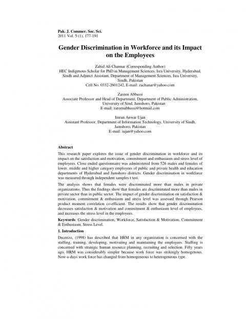 001 Research Paper Discrimination In Education Pdf Amazing 480