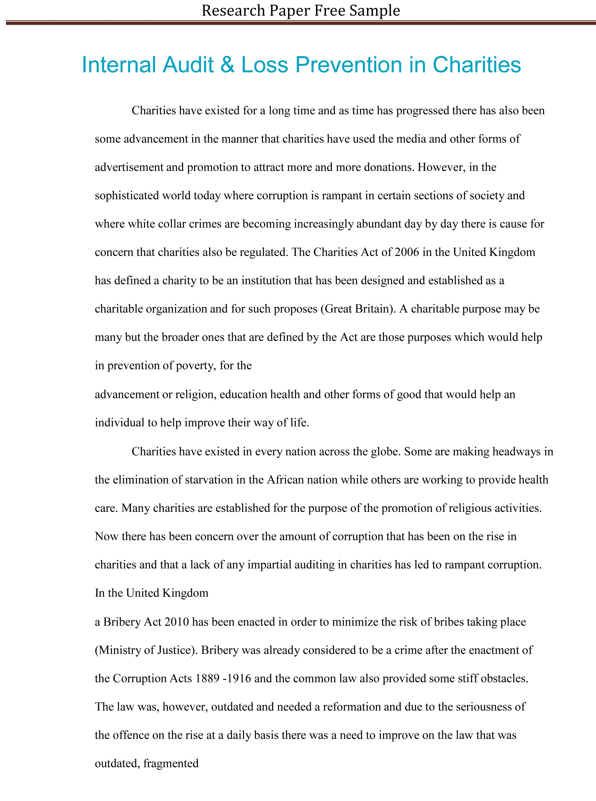 001 Research Paper Educational Wondrous Sample Education Action Abstract Example Management Full