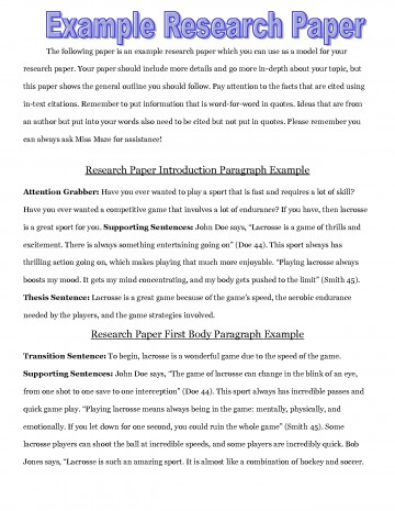 001 Research Paper Example Of An Introduction For Excellent A Thesis About Bullying Examples Writing In Technology 360