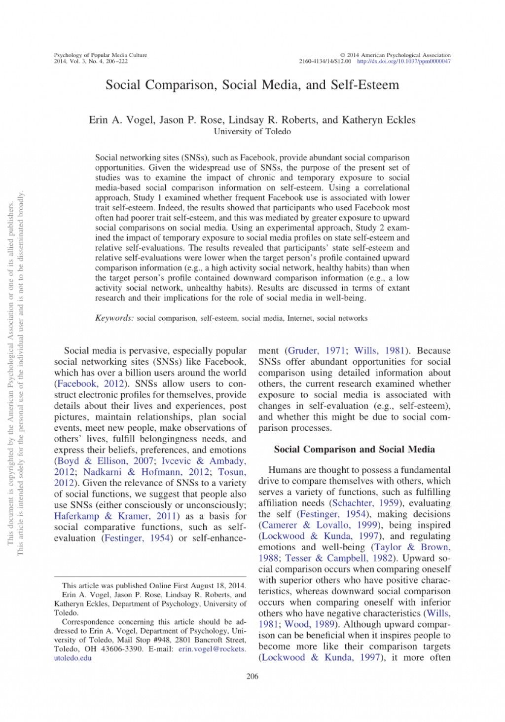 001 Research Paper Example Of Pdf About Social Media Awful Large