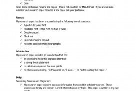 001 Research Paper Example Of Using Mla Style Fascinating Writing A Outline