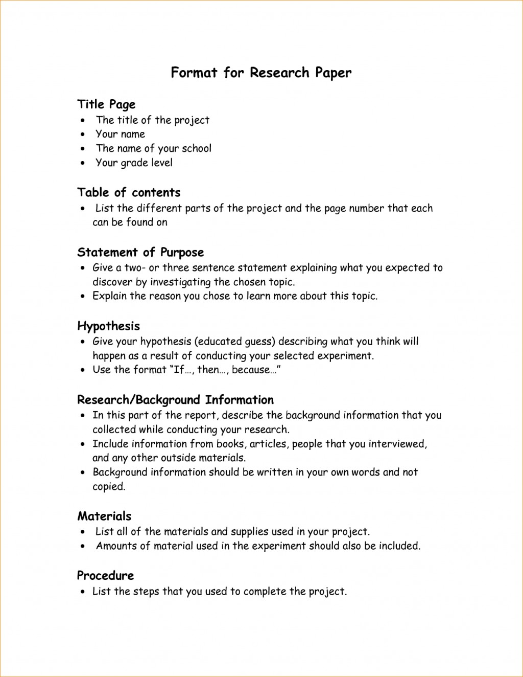 001 Research Paper Format Parts Of Best A Ppt Chapter 1 5 Qualitative Large