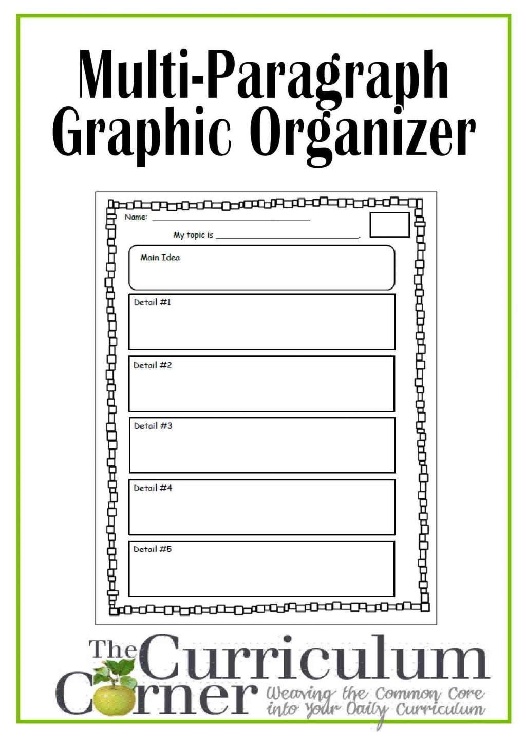 001 Research Paper Graphic Organizer Marvelous Middle School Pdf 6th Grade 3rd Large