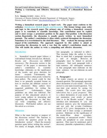 001 Research Paper How To Start The Discussion Section Of Top A Organize 360