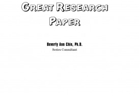 001 Research Paper How To Write Great Wiley Keys Success Page 1 Archaicawful A (wiley Success)