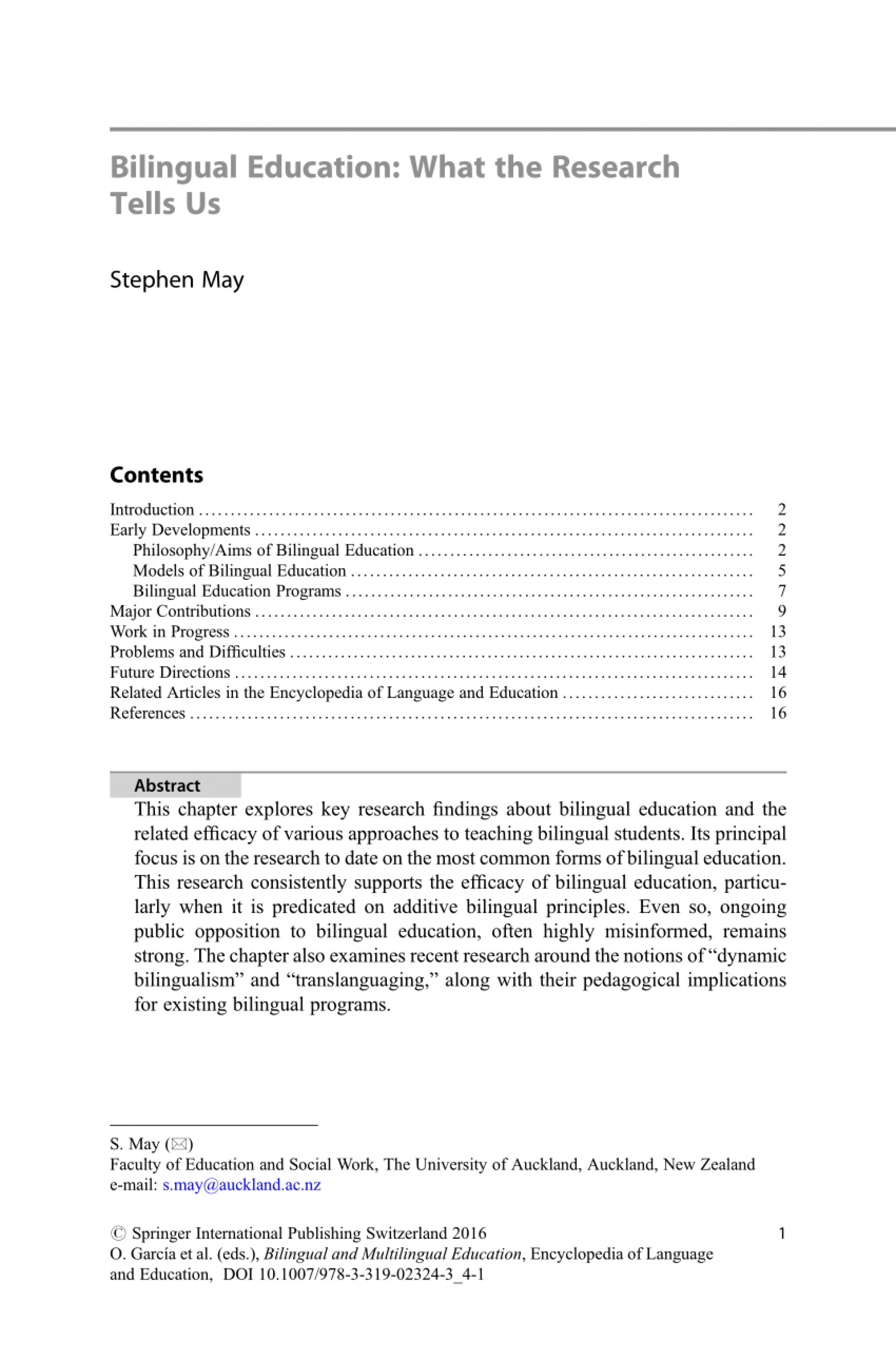 001 Research Paper Largepreview Bilingual Education Unusual Pdf 1920