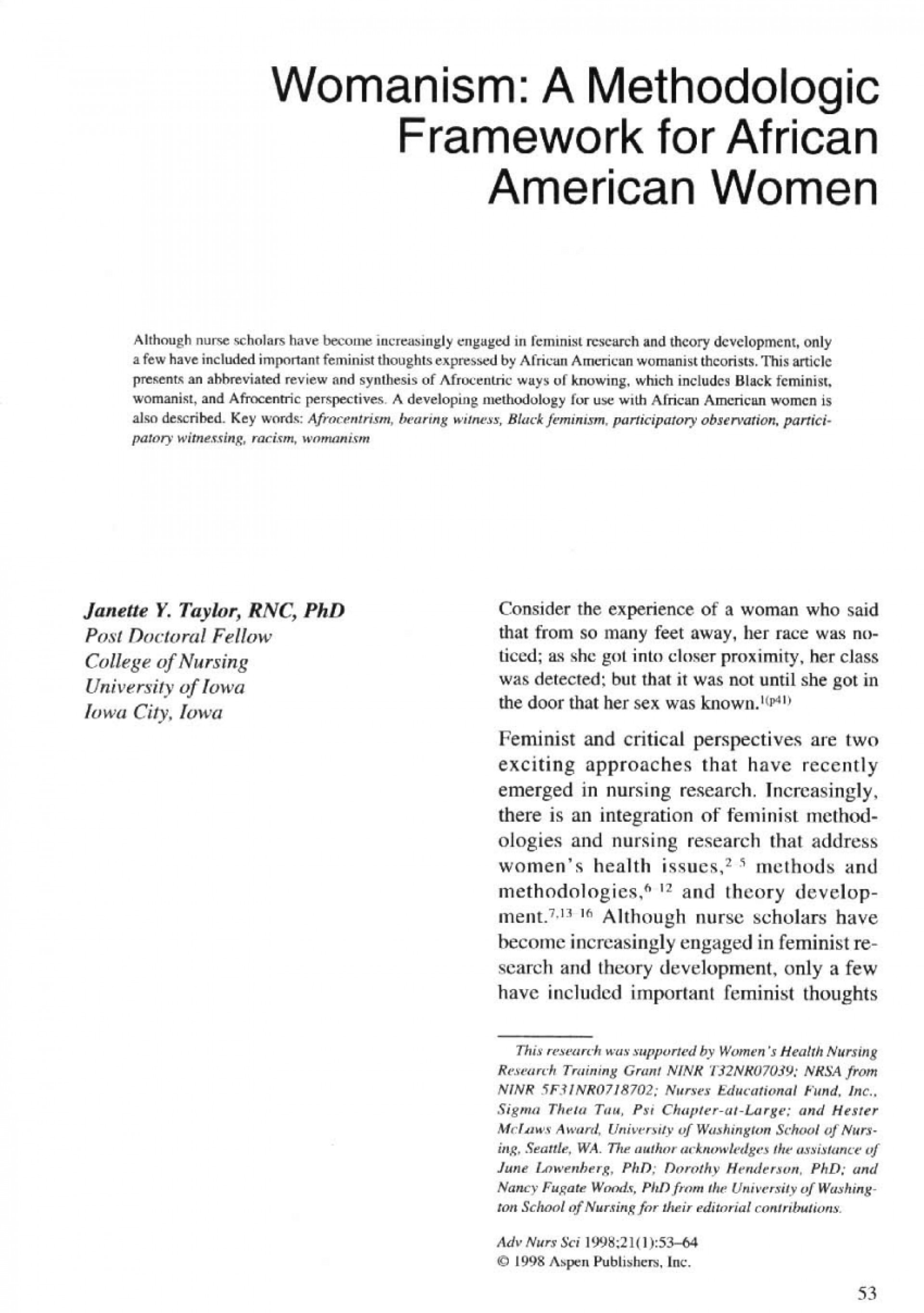 001 Research Paper Largepreview Black Outstanding Feminism 1920
