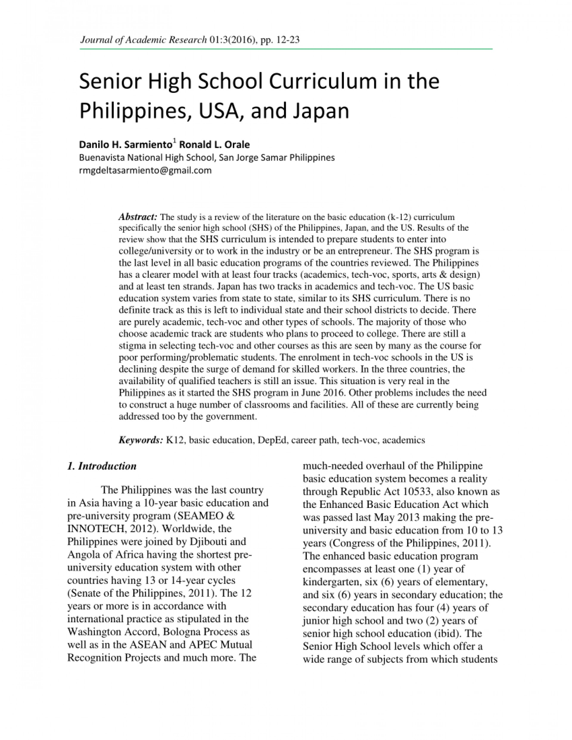 001 Research Paper Largepreview Example Of About Education In The Stupendous Philippines Title 1920