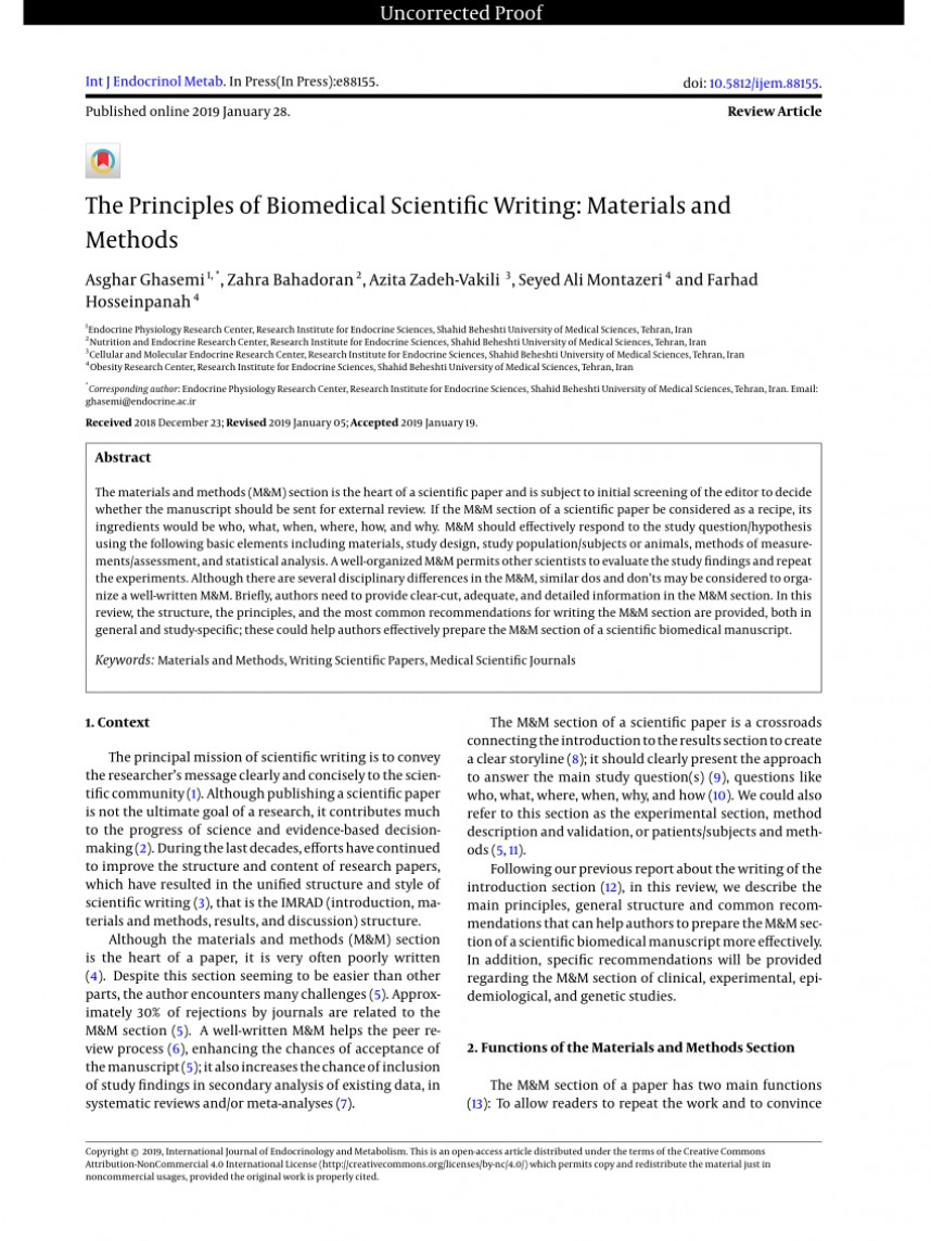 001 Research Paper Largepreview How To Write Materialsnd Methods In Excellent Materials And A Example