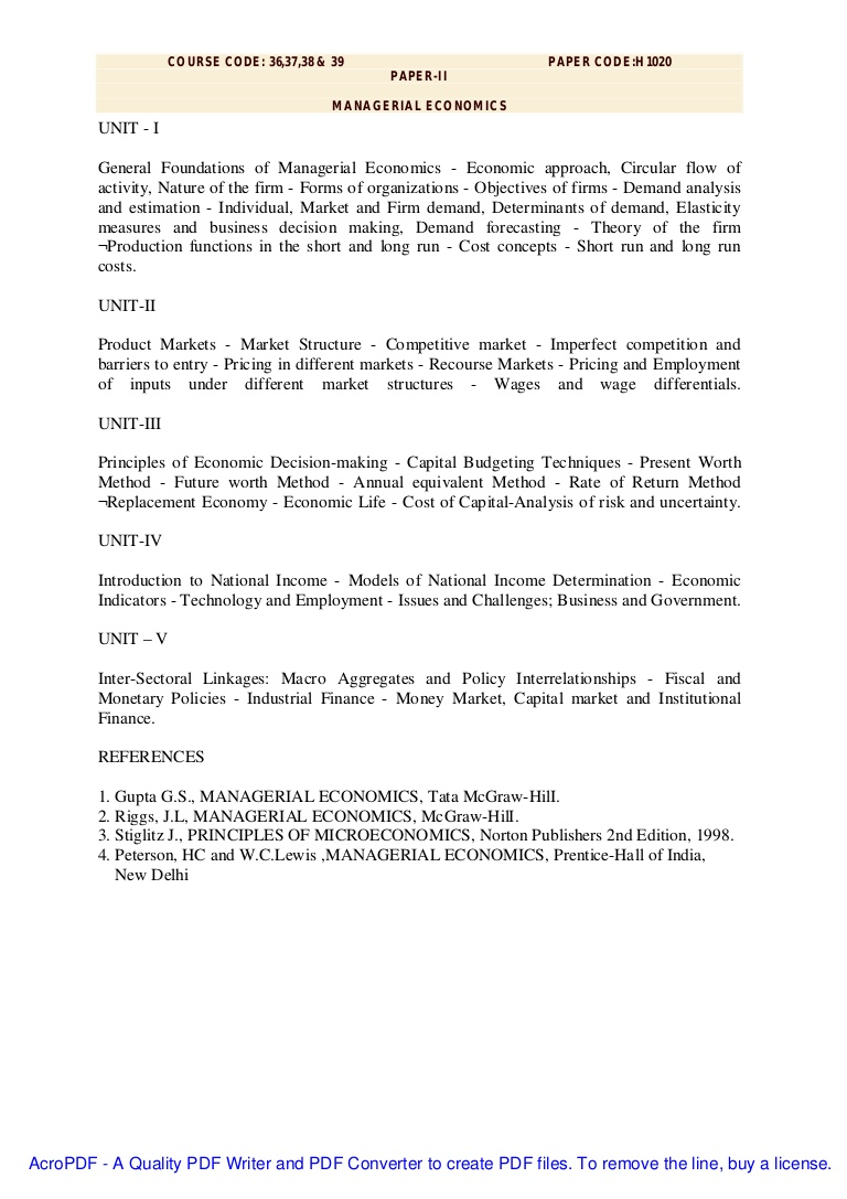 001 Research Paper Managerialeconomics Phpapp02 Thumbnail Managerial Economic Imposing Topics Full