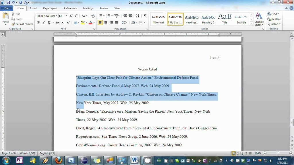 001 Research Paper Maxresdefault Format Mla Style Microsoft Word Rare 2007 Large