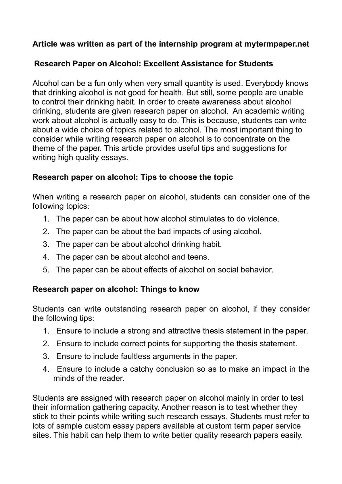 001 Research Paper On Alcohol Awesome Alcoholism And Family Articles Sample Substance Abuse Full