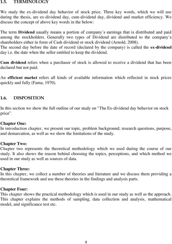 001 Research Paper Parts Of Chapter Wonderful 4 1-4 728