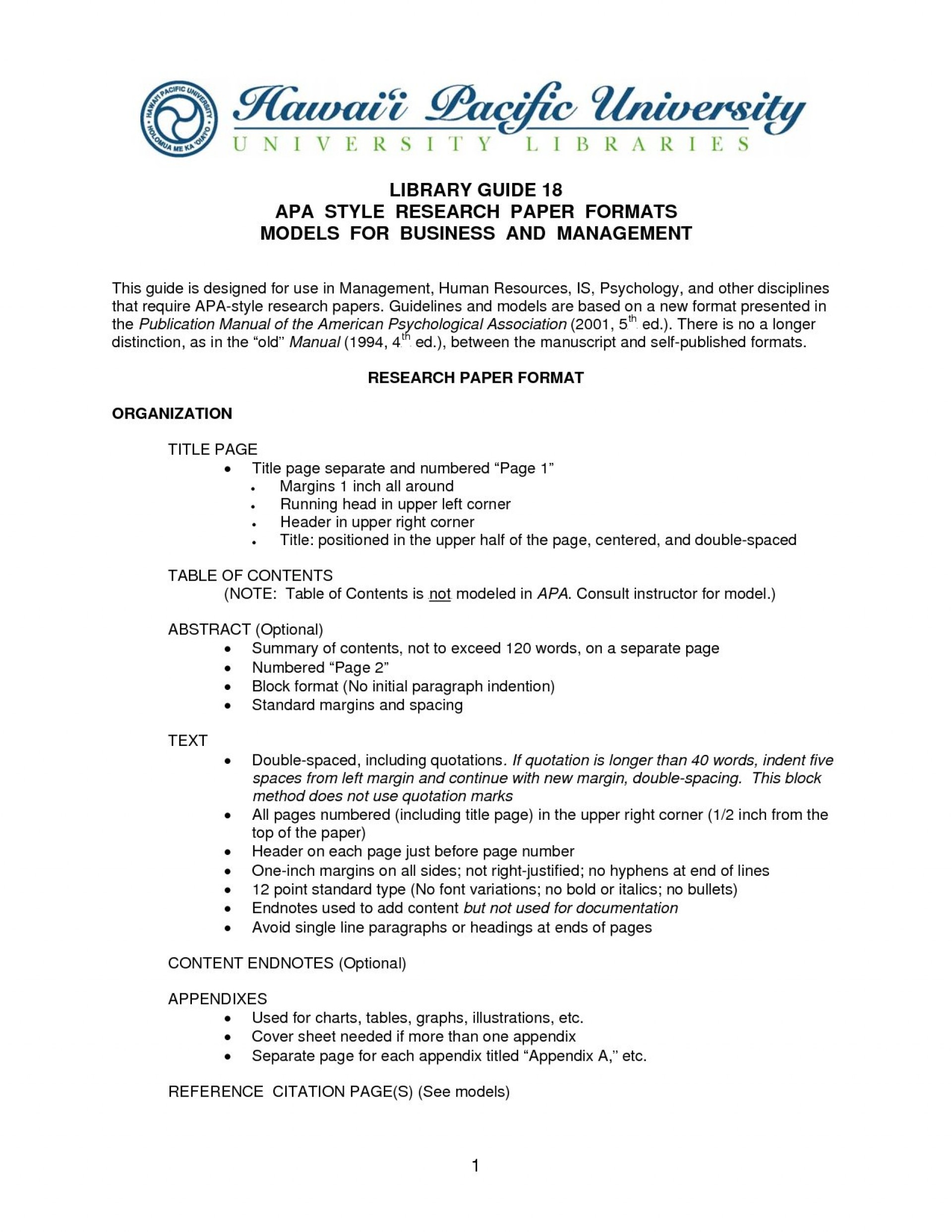 001 Research Statement Example Template Dgpr1ovi Paper Apa Format Surprising 2015 1920