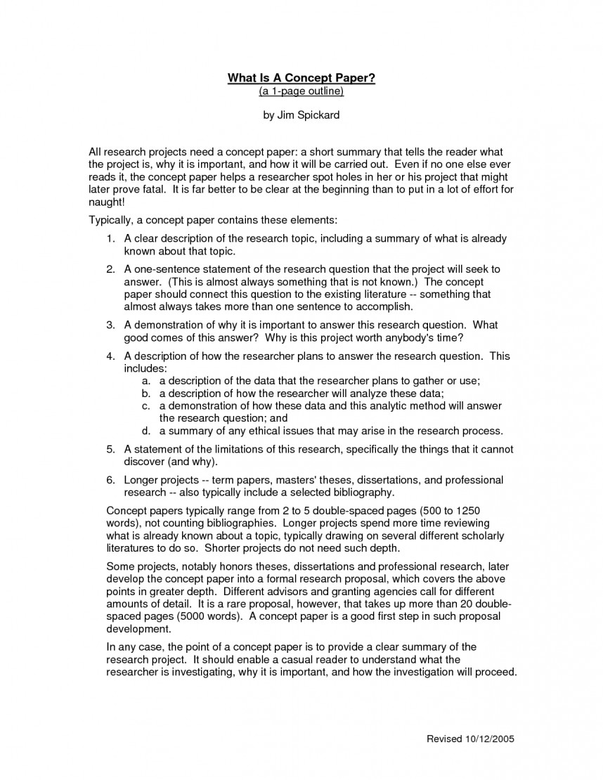 001 Sample Research Concept Wondrous A Paper Format Project Example