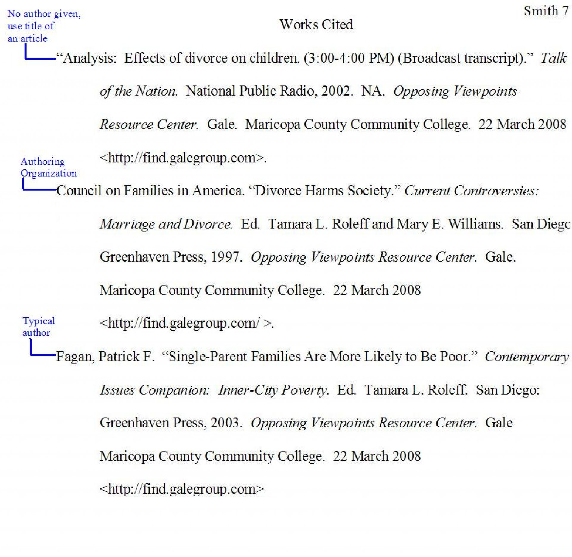 001 Samplewrkctd Jpg Citation Page For Research Wonderful Paper How To Make A Works Cited About The Little Rock Nine 1920