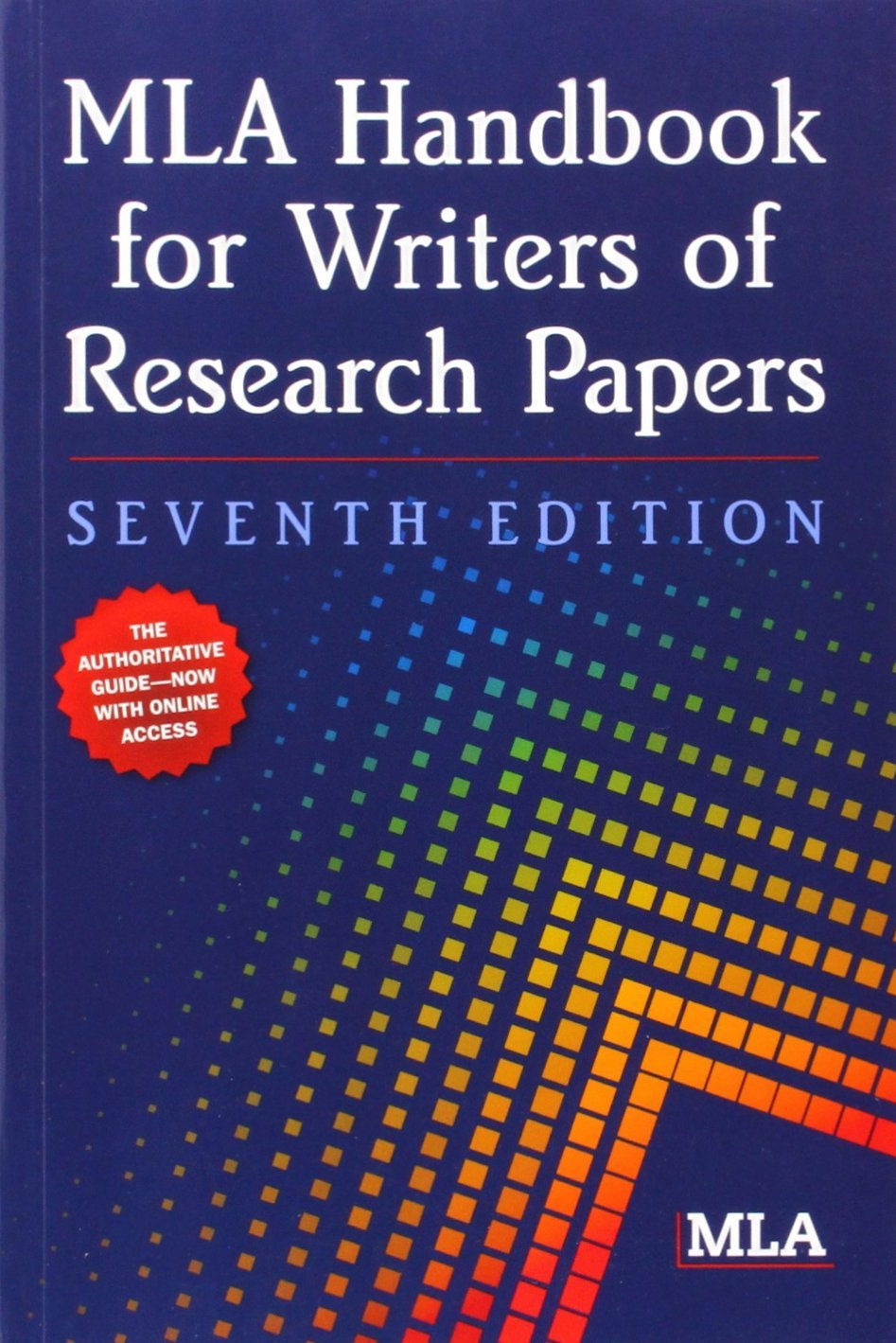 001 The Mla Handbook For Writers Of Research Papers Paper Fearsome 8th Edition 7th 2009 (8th Ed.)
