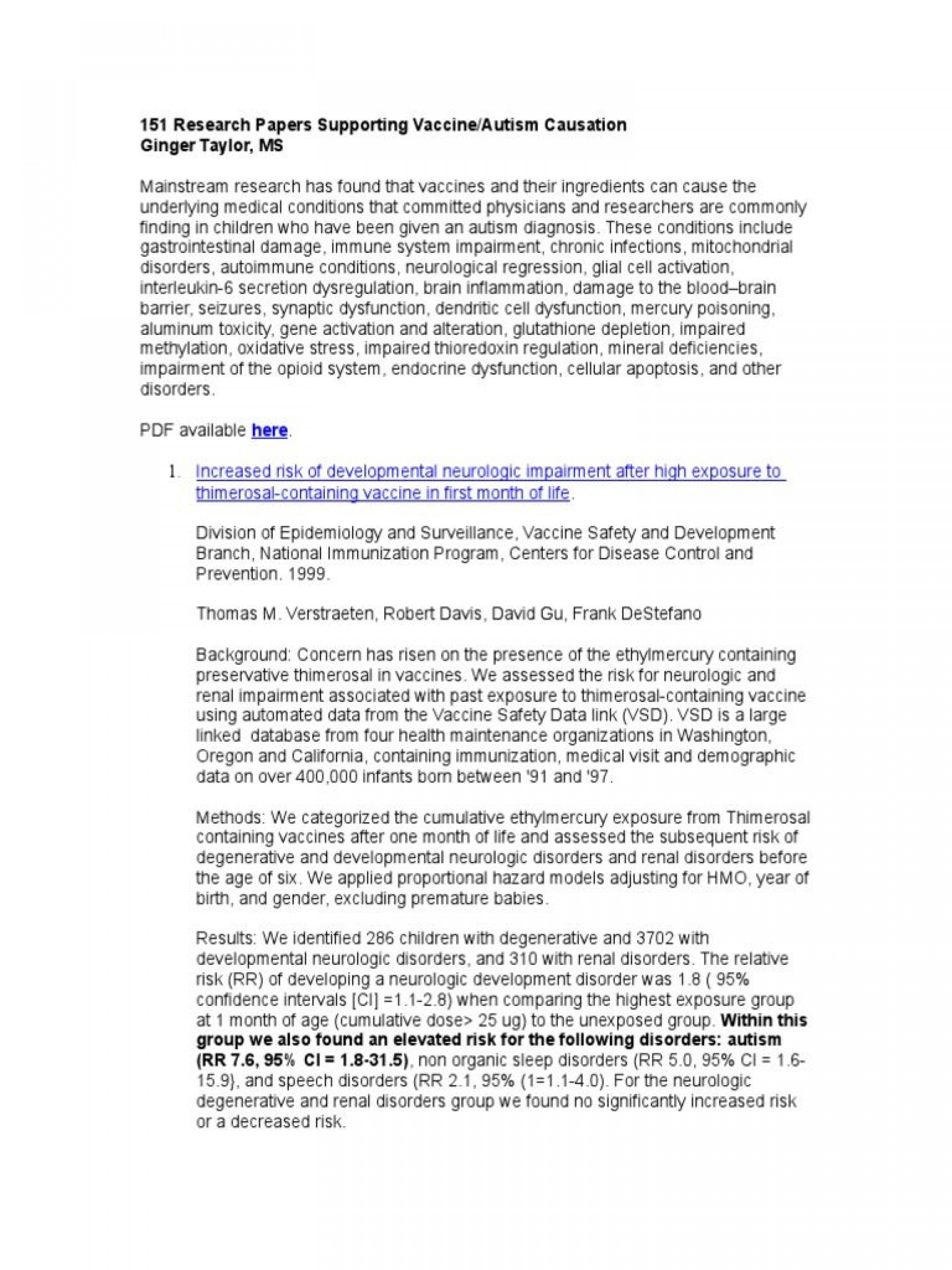 001 Vaccines Research Paper Sensational Edible Papers Conclusion Outline 1920