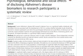 002 Alzheimers Disease Research Paper Impressive Alzheimer's Title Example Outline For