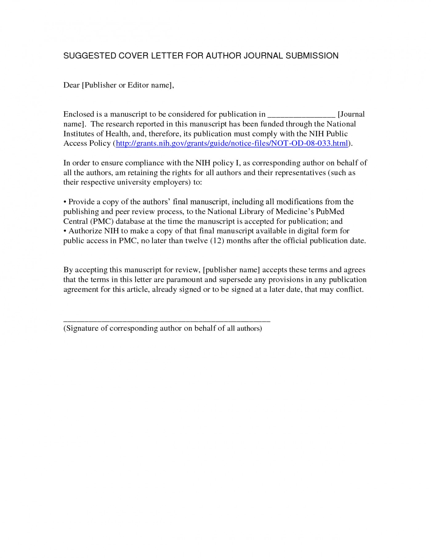 006 Research Paper Cover Letter For Publication Sample ...