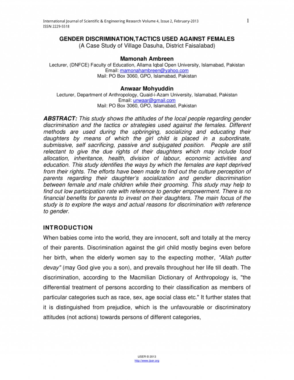 002 Discrimination In Education Research Paper Pdf Amazing Large