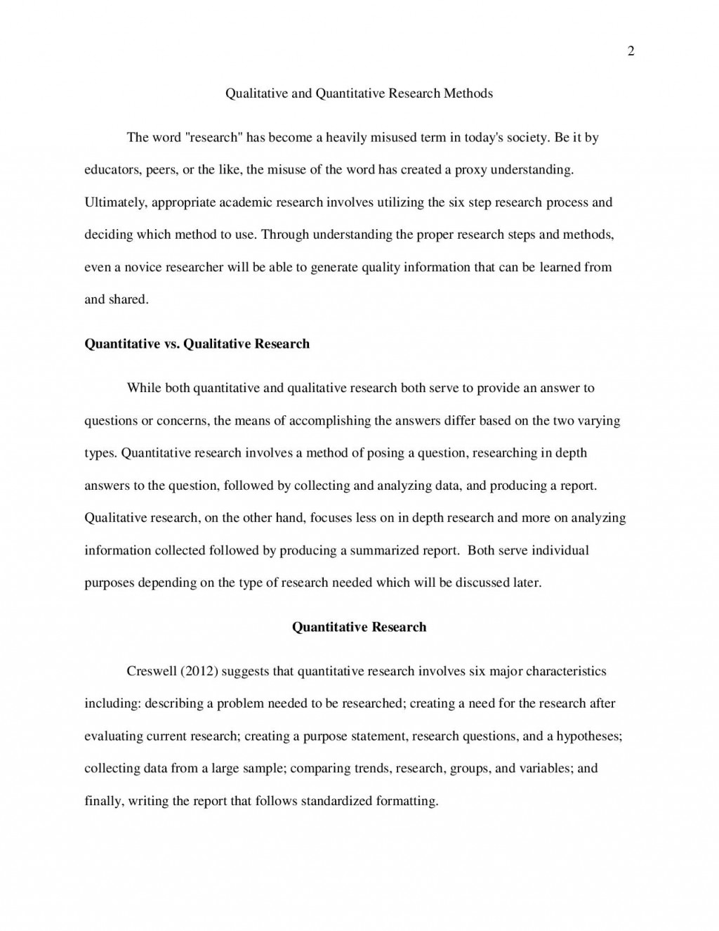 002 Example Of An Apa Qualitative Research Paper Help Singular Large
