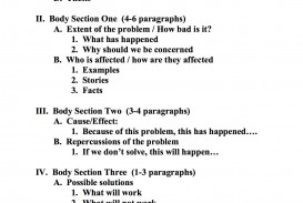 002 Example Research Paper Phenomenal Outline Writing A Middle School Mla Style On Obesity