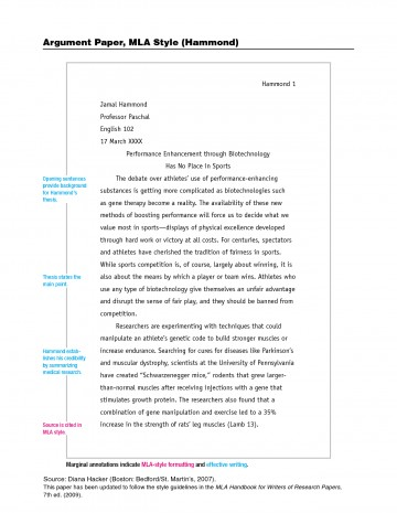 002 Format For Research Paper Mla Style Imposing A Example Of Outline Sample Owl Writing Using 360