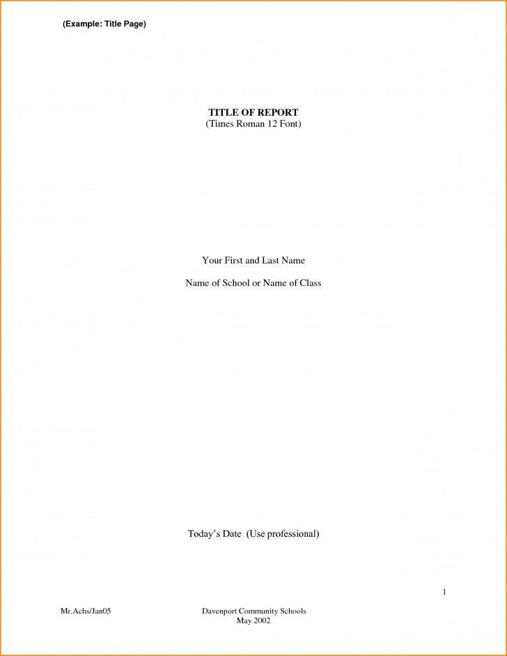 002 Front Page Of Research Paper Format Cover For Wondrous A Mla Example Doc Turabian 728