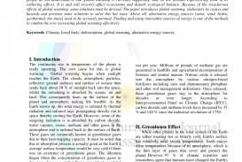 002 Global Warming Research Paper Conclusion Outstanding