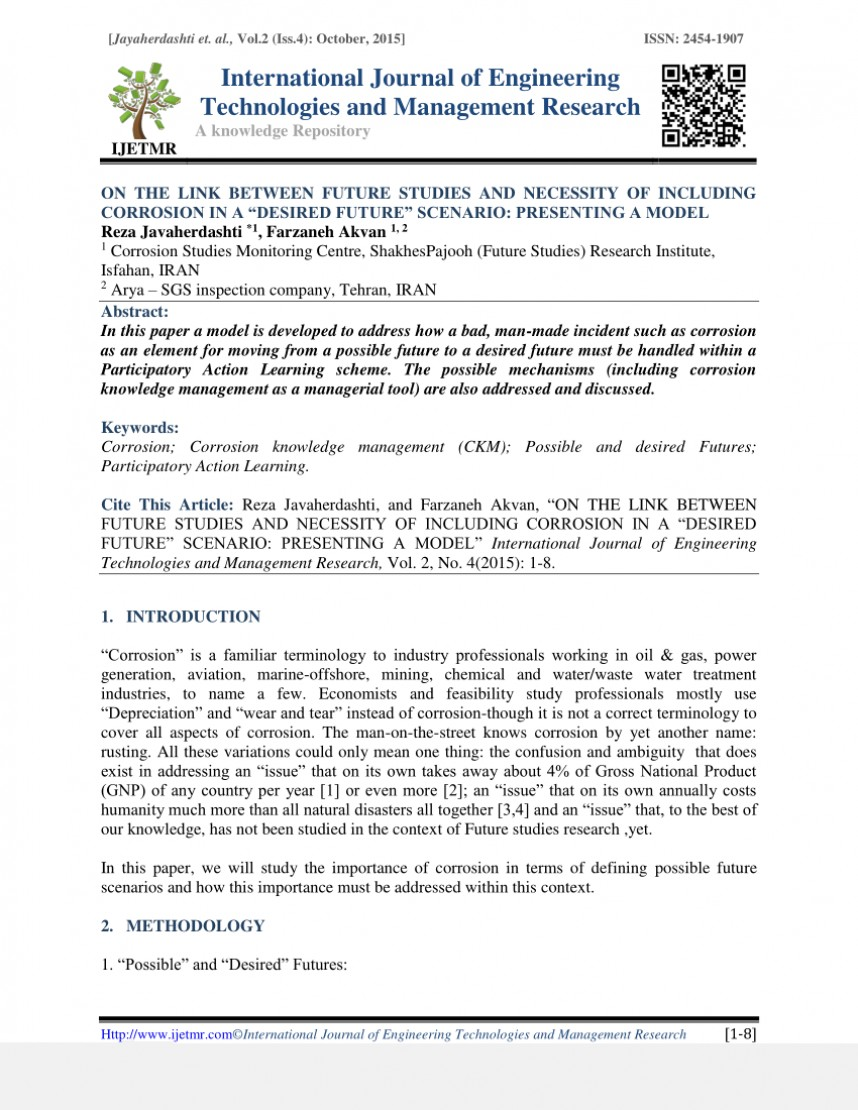 002 How To Publish Management Research Paper In International Journal Archaicawful A