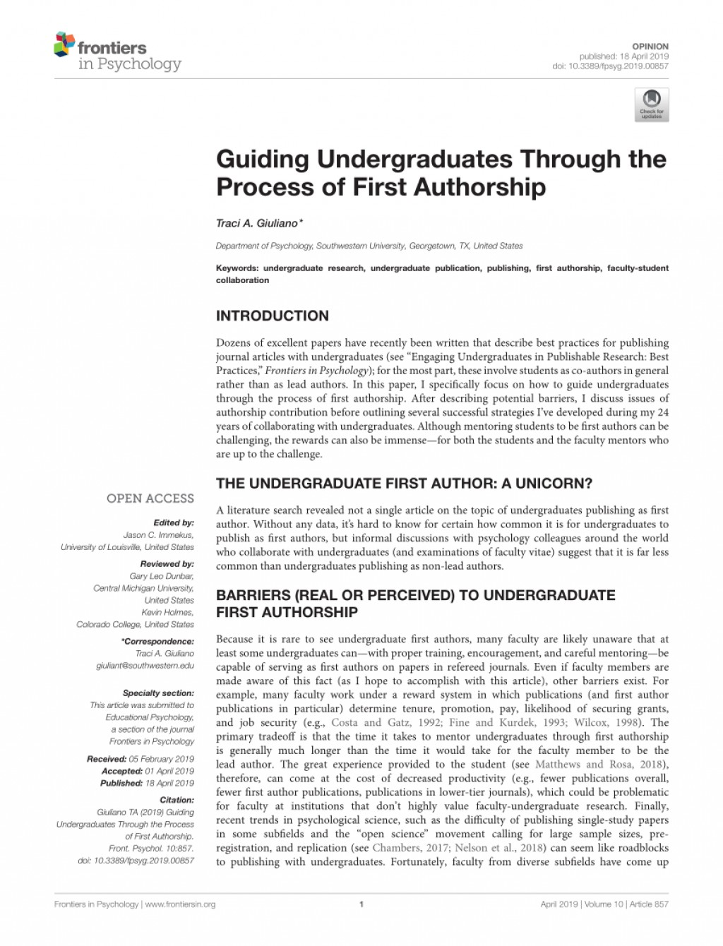 002 How To Publish Research Paper As An Undergraduate Marvelous A In India Large