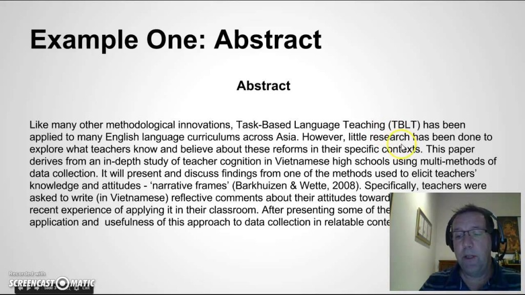 002 How To Write Good Research Paper Abstract Marvelous A Science Fair Example Large