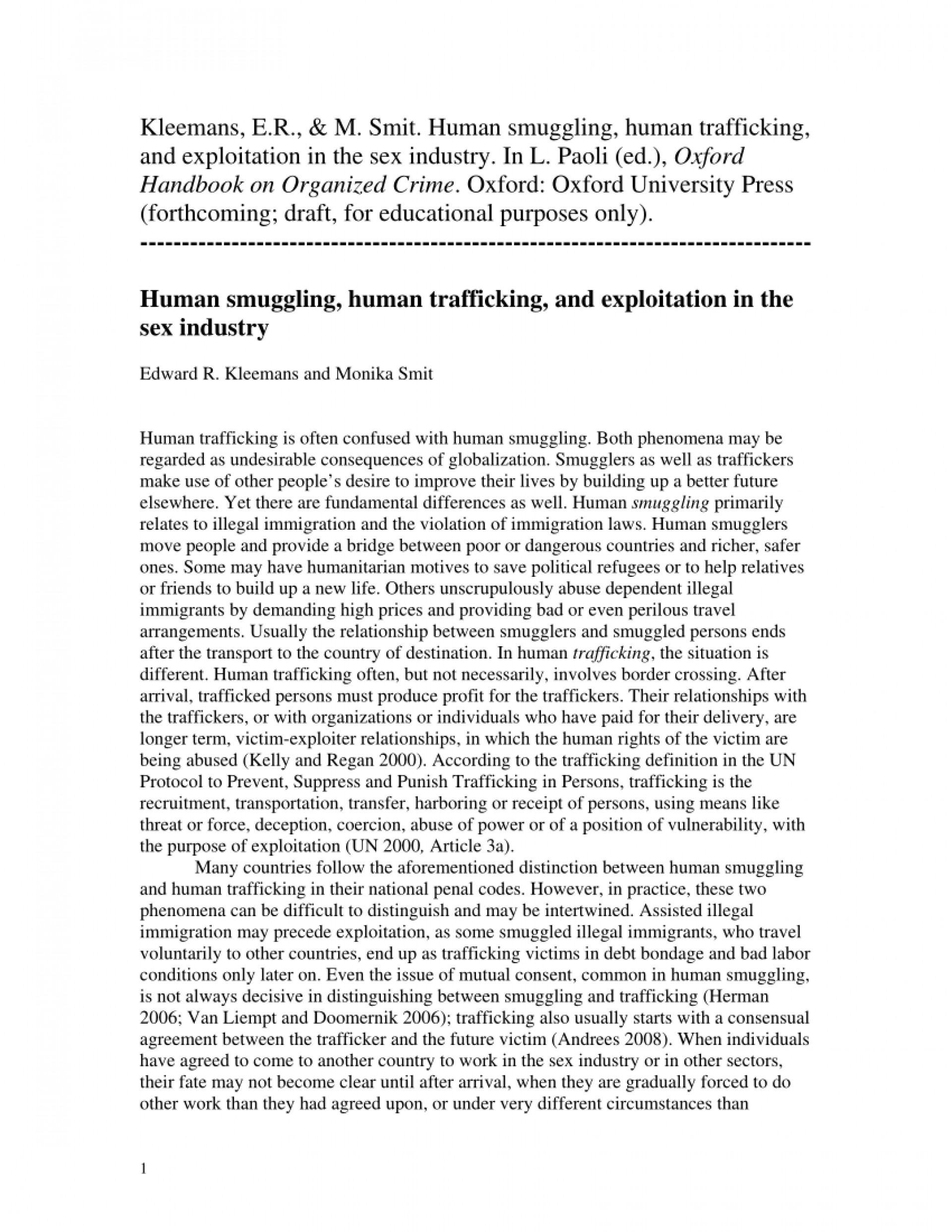 002 Human Trafficking Research Paper Example Remarkable 1920