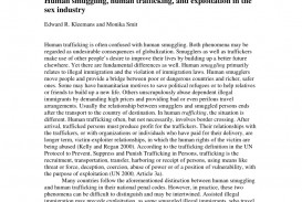 002 Human Trafficking Research Paper Example Remarkable