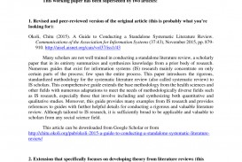 002 Largepreview Literature Review Research Singular Paper Vs Or A Pdf