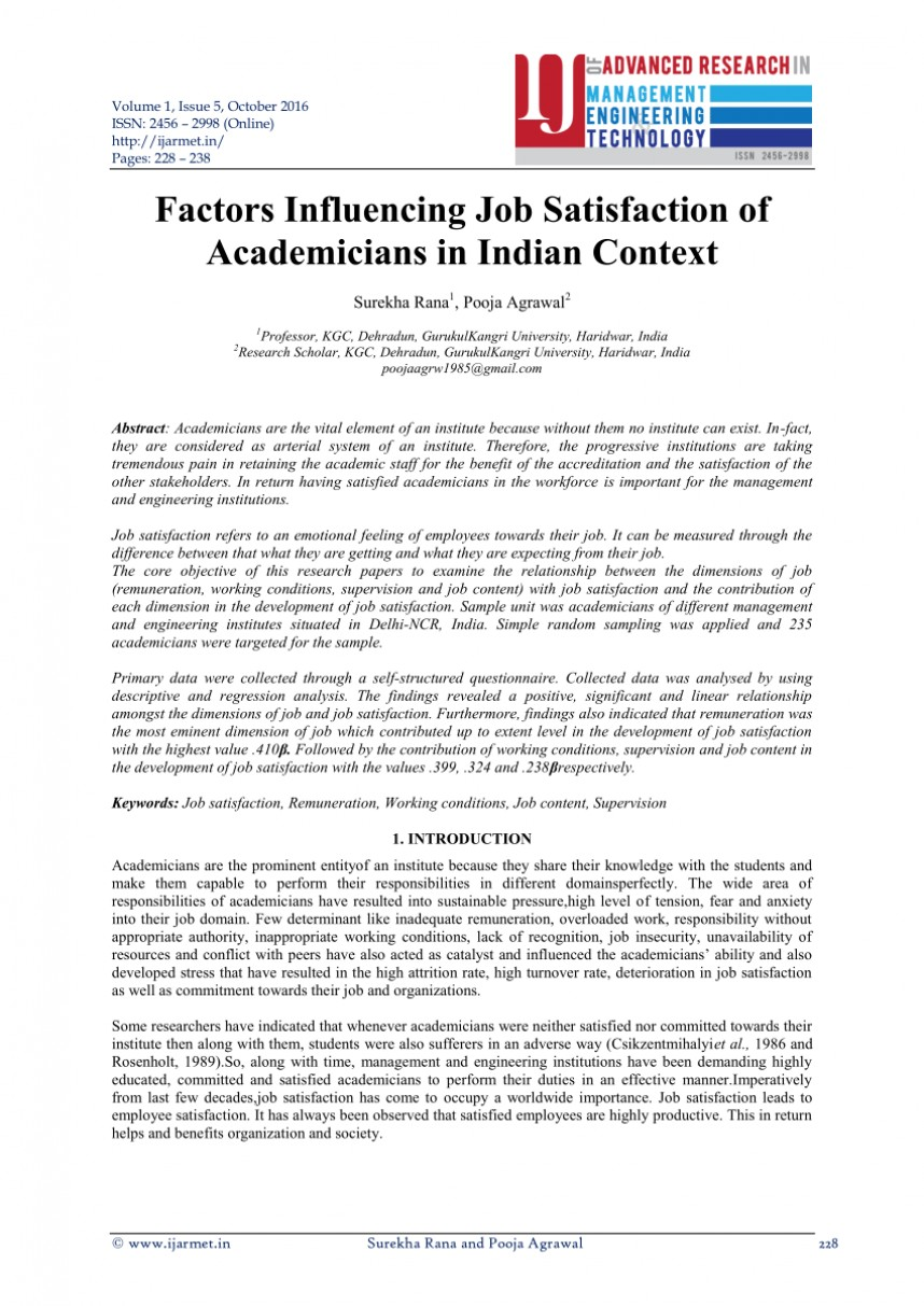 002 Largepreview Research Paper Abstract For On Job Awesome Satisfaction