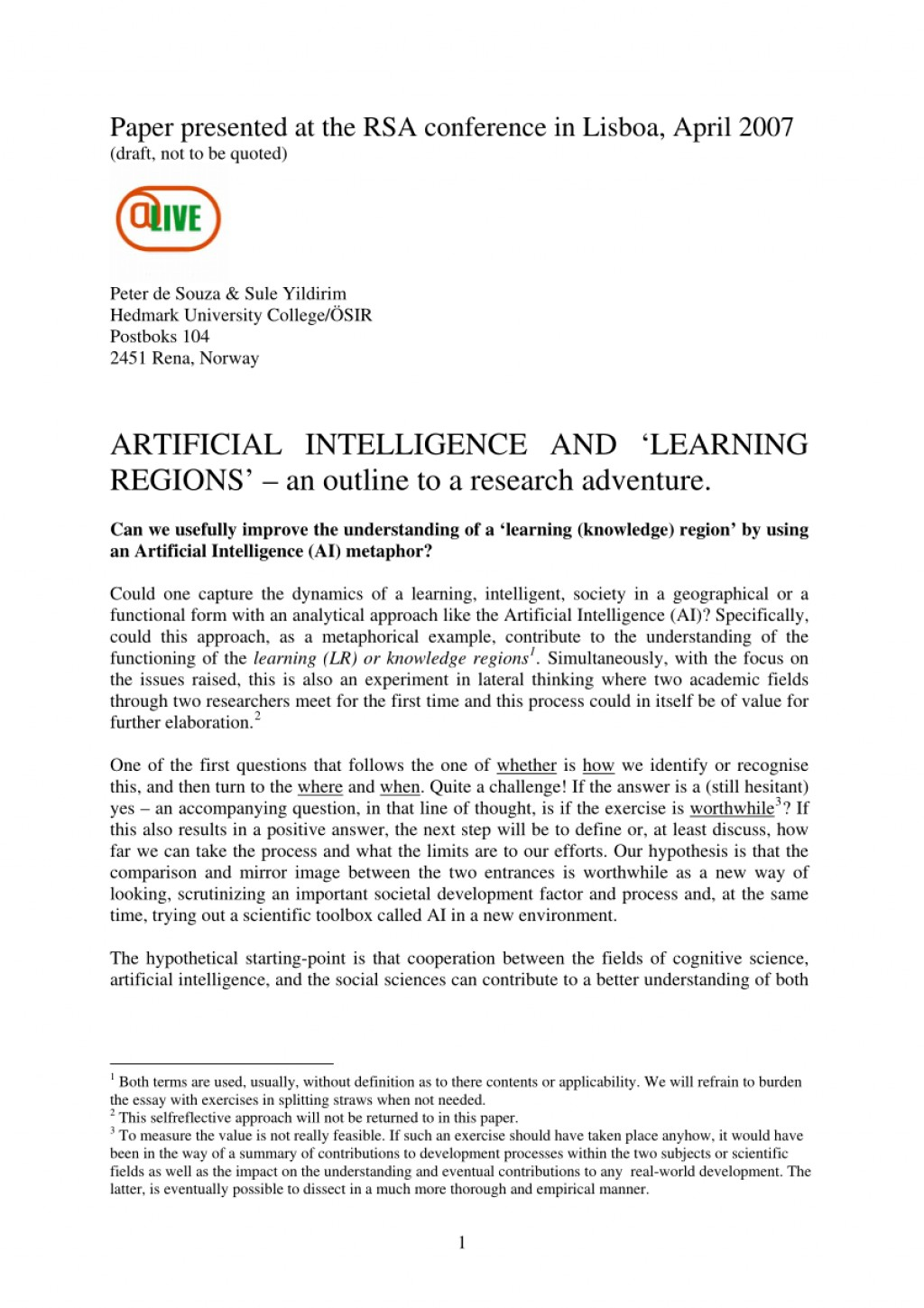 002 Largepreview Research Paper Artificial Intelligence Rare Outline Large
